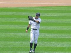 Ichiro Suzuki Acknowledges the Bleacher Creatures on Sunday August 11th against the Tigers
