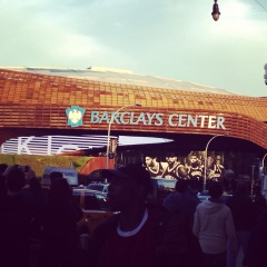 The Barclays Center Before Game 1 4/20/13